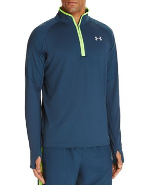 Under Armour No Breaks Half-Zip Running Shirt