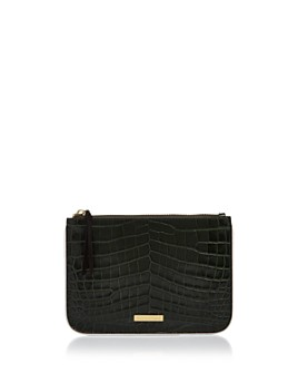 Elizabeth and James - Color Block Embossed Leather Pouch