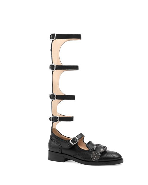 Gucci - Women's Queercore Gladiator Flats