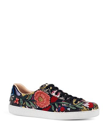 Gucci - Men's New Ace Lace Up Sneakers
