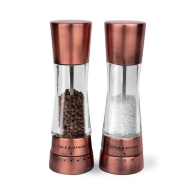 Copper Finished Pepper Mill