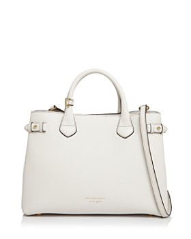 Burberry - Banner House Check Medium Leather Tote
