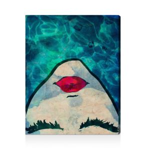 Oliver Gal Water Coveted Wall Art, 17 x 22