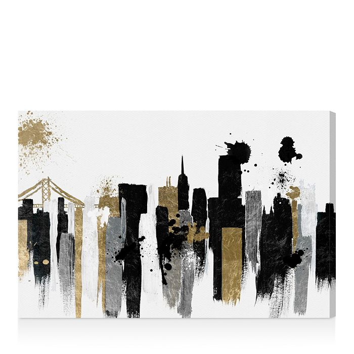 "Oliver Gal - Glamorous San Francisco Wall Art, 24"" x 16"""