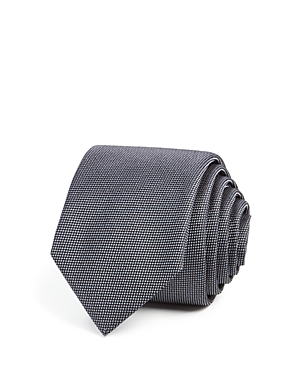 1960s Inspired Fashion: Recreate the Look Boss Textured Solid Skinny Tie AUD 69.14 AT vintagedancer.com