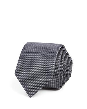 1960s Men's Ties | Skinny Ties, Slim Ties Boss Textured Solid Skinny Tie AUD 69.14 AT vintagedancer.com