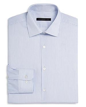 John Varvatos Star Usa Stripe Regular Fit Dress Shirt