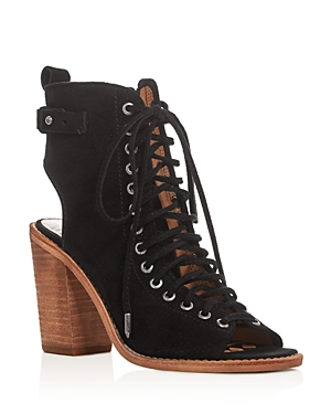 Dolce Vita Loren Perforated Lace Up Sandals