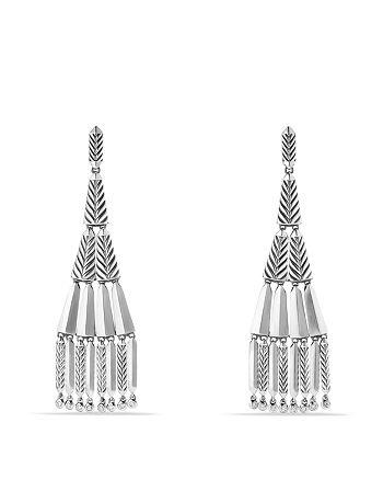 David Yurman - Stax Fringe Earrings with Diamonds