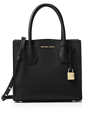 Michael Michael Kors Mercer Medium Leather Messenger