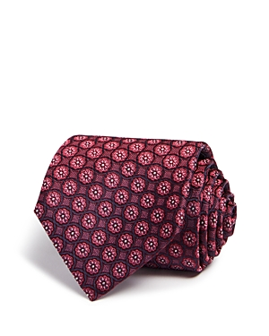 Canali Floral Medallion Classic Tie