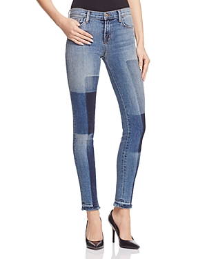 J Brand 811 Mid Rise Skinny Jeans in Reunion