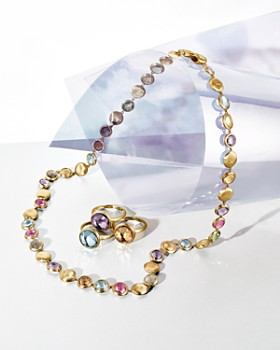 """Marco Bicego - Jaipur Multicolored Necklace, 18"""""""