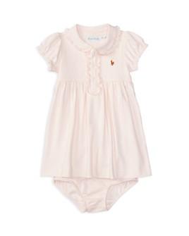Ralph Lauren - Girls' Ruffled Dress & Bloomer Set - Baby