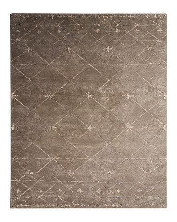 Jaipur - Etho by Nikki Chu Area Rug - Major Brown/Oyster Gray, 8' x 10'