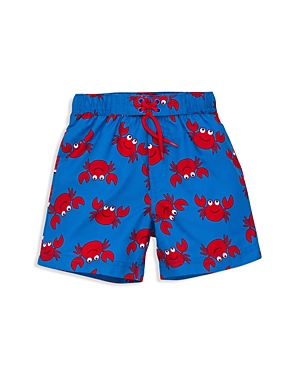 Little Me Boys' Crab Print Swim Trunks - Baby