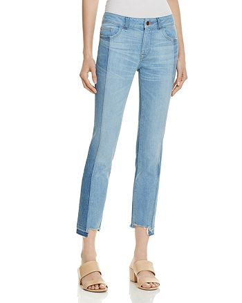 DL1961 - Mara Instasculpt Ankle Straight Step-Hem Jeans in Combo - 100% Exclusive