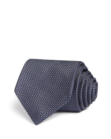 $John Varvatos Star USA LUXE Micro Textured Classic Tie - Bloomingdale's