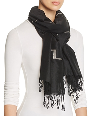 Eileen Fisher Embroidered Scarf at Bloomingdale's