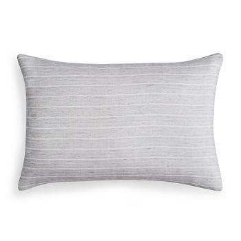 """Vera Wang - Sheer Linen Decorative Pillow, 15"""" x 22"""""""