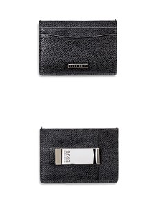 Hugo Boss Signature Money Clip Card Case - Bloomingdale's_0