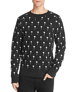 WeSC Marvin Palm Trees Embroidered Sweatshirt