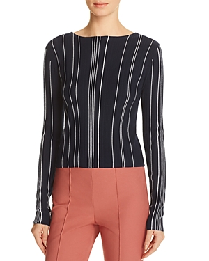 Theory Hankson Striped Sweater