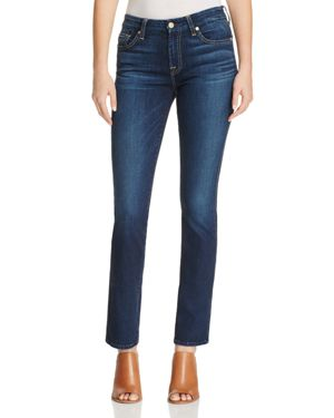 7 For All Mankind Kimmie Straight Jeans in Santiago Canyon