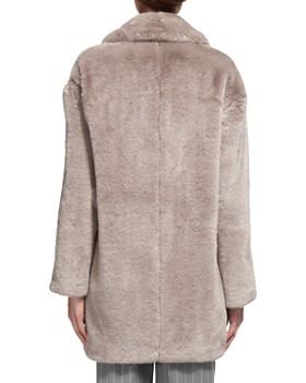 Whistles - Faux Fur Cocoon Coat