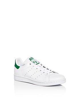 Adidas - Unisex Stan Smith Leather Lace Up Sneakers - Toddler, Little Kid