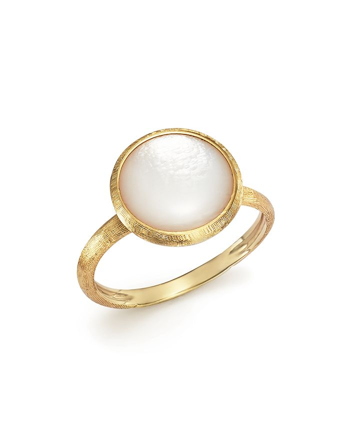 Marco Bicego - 18K Yellow Gold Jaipur Ring with Mother-Of-Pearl - 100% Exclusive