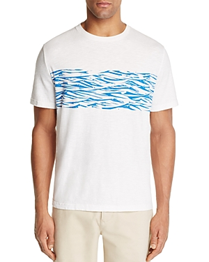 Surfside Supply Wave Print Graphic Tee