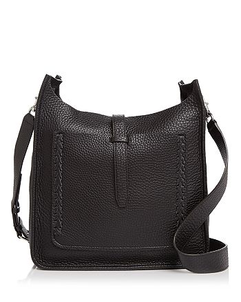 f2c3176a28a Rebecca Minkoff Unlined Whipstitch Feed Pebbled Leather Crossbody ...