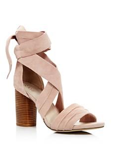Raye - Women's Mia Ankle Wrap High-Heel Sandals - 100% Exclusive