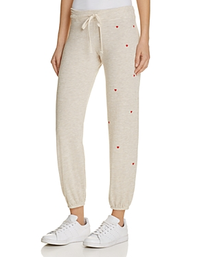 Sundry Heart Patches Sweatpants
