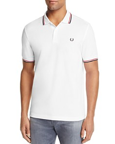 Fred Perry Tipped Logo Slim Fit Polo Shirt - Bloomingdale's_0