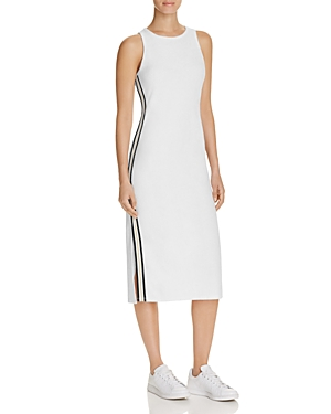 Juicy Couture Black Label Microterry Track Stripe Tank Dress