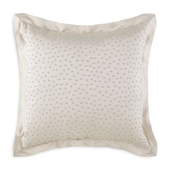 """Waterford - Olivette Embroidered Decorative Pillow, 14"""" x 14"""""""
