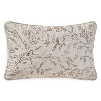 "Waterford - Sophia Beaded Decorative Pillow, 12"" x 18"""