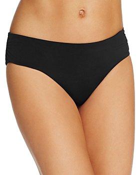 Echo - Solid Ruched Bikini Bottom