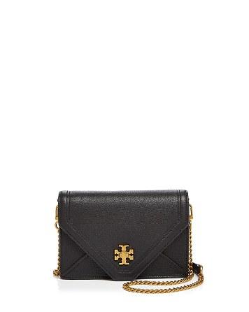 $Tory Burch Kira Mini Leather Crossbody - Bloomingdale's