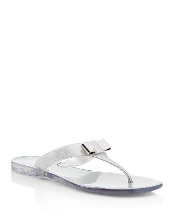 f6eacc1b06a Salvatore Ferragamo - Women s Jelly Thong Sandals