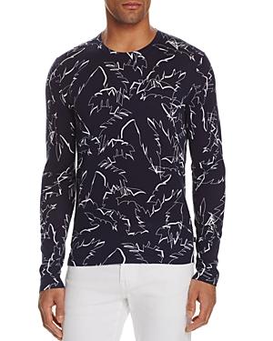 Michael Kors Cotton Palm Tree Sweater