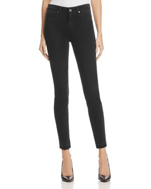 Madeline Ankle Jeans in Black Dusk - Rosie Hw x Paige