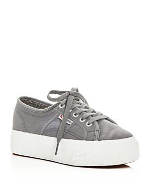 Superga Linea Lace Up Platform Sneakers