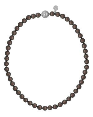 Majorica Simulated Tahitian Pearl Beaded Necklace, 18