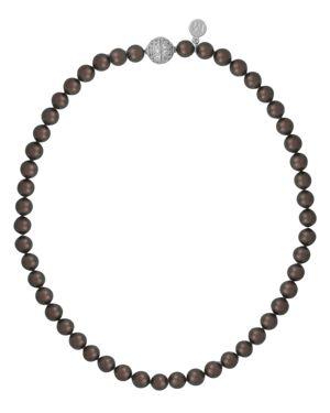 Majorica Simulated Tahitian Pearl Beaded Necklace, 18