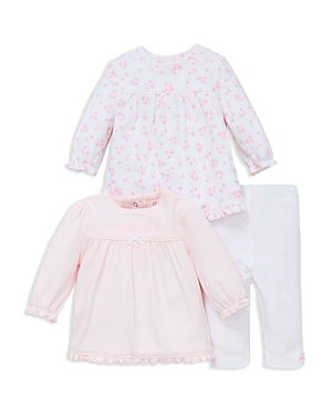 Little Me Girls' Dainty Three Piece Tunic & Leggings Set - Baby