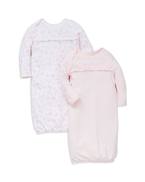 Little Me Infant Girls' Dainty Gown 2 Pack - One Size
