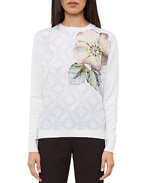 Ted Baker Gem Gardens Printed Sweater